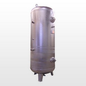 Tank 1500L (11 bar) Galvanized - Vertical
