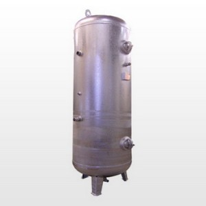 Tank 350L (11 bar) Galvanized - Vertical
